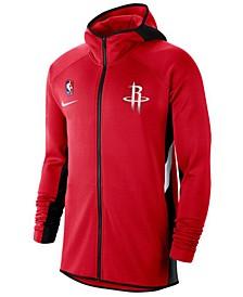 Men's Houston Rockets Thermaflex Showtime Full-Zip Hoodie