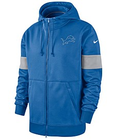 Men's Detroit Lions Sideline Full-Zip Therma Hoodie