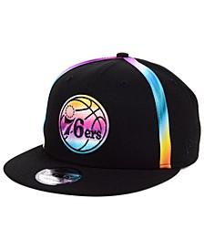Philadelphia 76ers Color Gazing Trucker 9FIFTY Snapback Cap