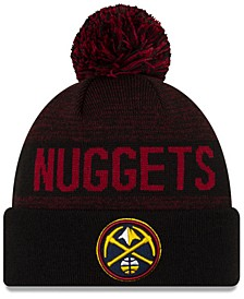 Denver Nuggets Blackout Speckle Knit Hat