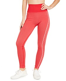 Heart-Print High-Waist Leggings, Created For Macy's