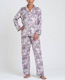 Notch Collar Pajama Set, Online Only