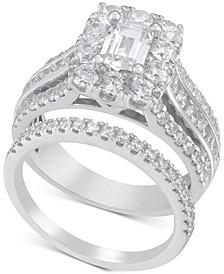 Diamond Emerald-Cut Bridal Set (2-1/2 ct. t.w.) in 14k White Gold