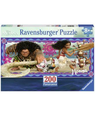 Ravensburger Disney Moana Panorama Jigsaw Puzzle - Moana's Adventures - 200 Piece