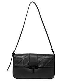 Frida Leather Flap Shoulder Bag
