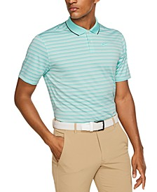 Men's Vapor Dri-FIT Striped Golf Polo
