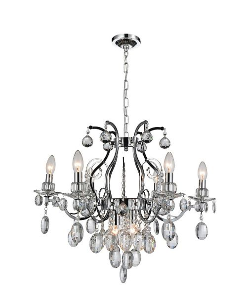 CWI Lighting CLOSEOUT! Minoan 8 Light Chandelier