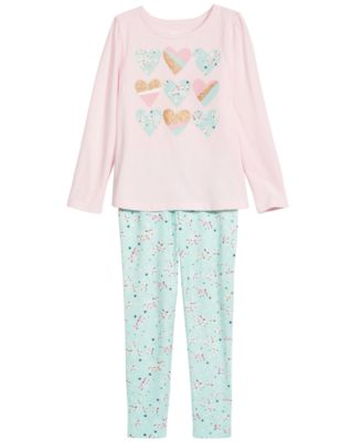 Little Girls Floral-Print Leggings, Created For Macy's