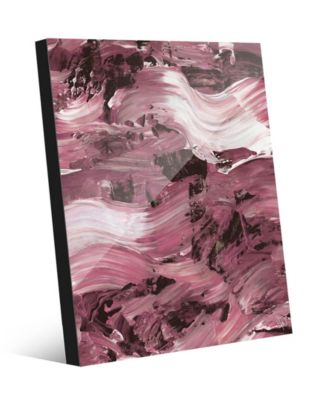 Mud Flow in Mauve Abstract 16