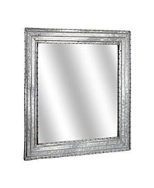 American Art Decor Galvanized Square Wall Vanity Mirror