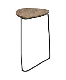 American Art Decor Modern C Style End/Side Table