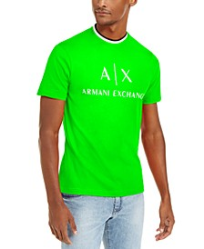 Men's Neon Glo Hyperbright Logo T-Shirt, Created For Macy's