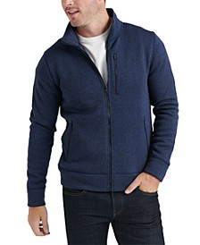 Men's Miles Zip-Front Sweater