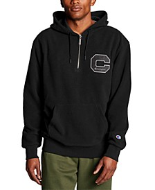 Men's Quarter-Zip Fleece Hoodie