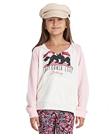 Big Girls California Love Hooded Sweatshirt