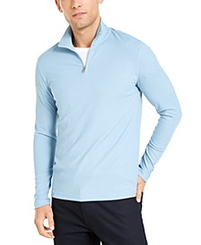 Men's Quarter-Zip Pullover Sweater, Created For Macy's