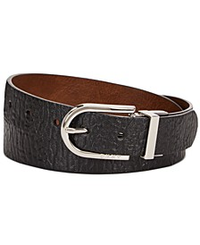 Buffalo-Glaze Reversible Belt