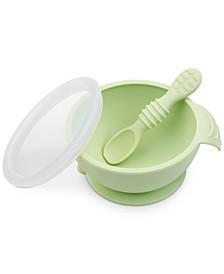 Silicone First Feeding Baby Bowl Set