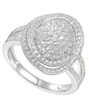 1-1/4 ct. t.w. Round Shape Diamond Ring in 14k White Gold