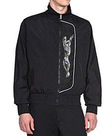 Men's Cheetah Graphic Sports Jacket