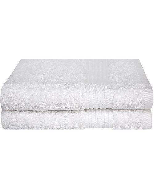 BUMBLE TOWELS Combed Cotton Bath Towel Collection, 2 Pack