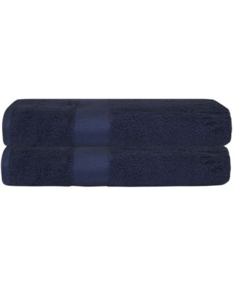 Premium Combed Cotton Bath Towel, 2 Pack