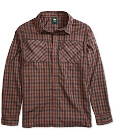EMS® Men's Quinnipiac Quick-Dry Plaid Tech Flannel Shirt