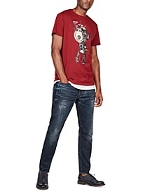 Men's D-Staq Slim-Fit Stretch Jeans, Created For Macy's