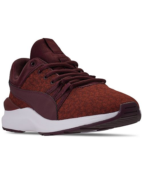 Puma Women's Adela Knit Graphic Casual Sneakers from Finish Line