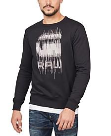 Men's Paint Drip Sweatshirt, Created For Macy's