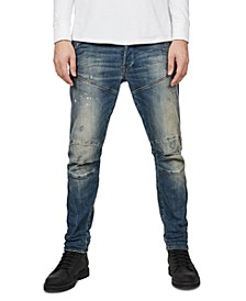 Men's 3D Slim Stretch Jeans, Created For Macy's