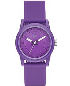 Women's Rosencrans Silicone Strap Watch 30mm