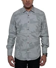 Men's Large Scale Camo Shirt