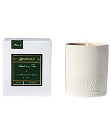CLOSEOUT! Holiday White Ceramic Boxed Candle