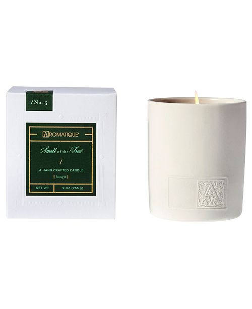 Aromatique CLOSEOUT! Holiday White Ceramic Boxed Candle