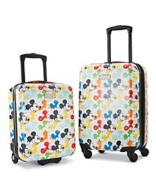 Disney Mickey Mouse Roll Aboard 2-Pc. Luggage Set