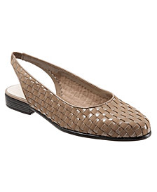 Trotters Lucy Sling Back Flats