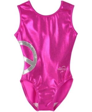 Obersee Kids' Toddler Girls Gymnastics Leotard In Pink