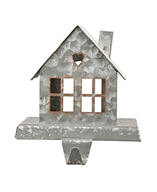 Galvanized House Stocking Holder