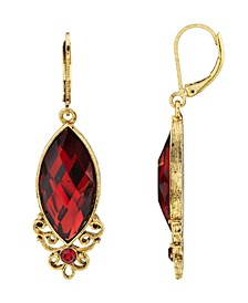 14K Gold Dipped Drop Earring