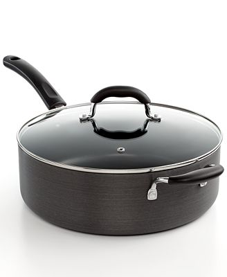 Tools of the Trade Hard Anodized 7 Qt. Covered Ultimate Sauté Pan, Created for Macy's
