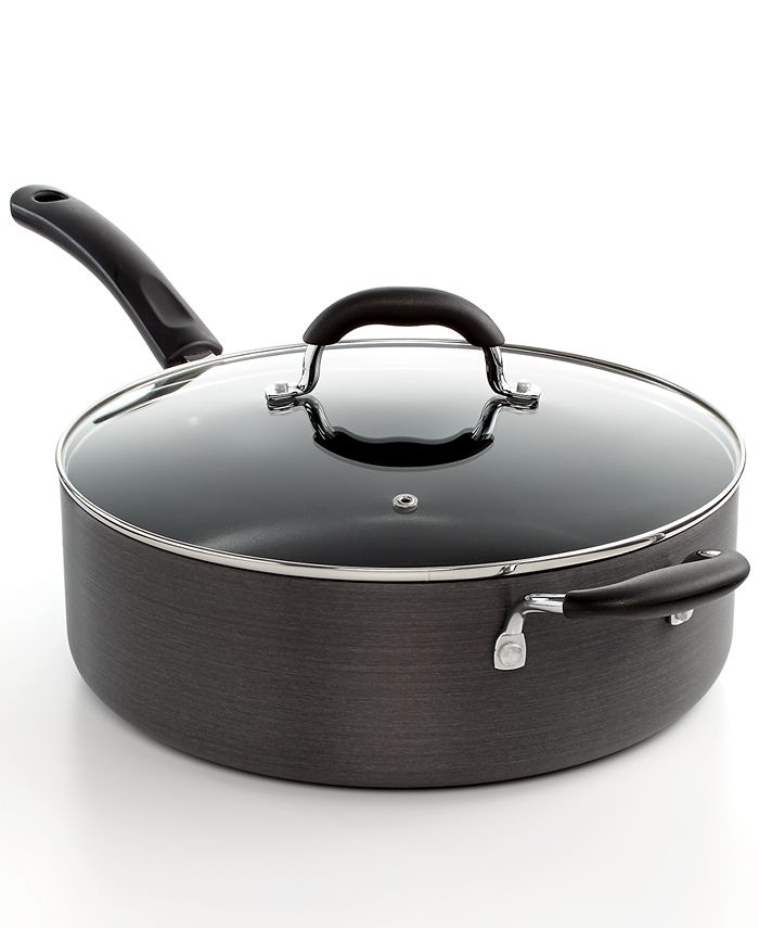 Tools of the Trade - Hard Anodized Ultimate Covered Saute Pan, 7 Qt.