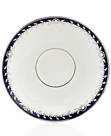 Marchesa by Lenox Dinnerware, Empire Indigo Saucer