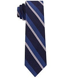 Men's Slim Textured Stripe Tie