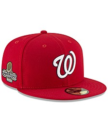 Washington Nationals 2019 World Series Champ AC 59FIFTY Fitted Cap