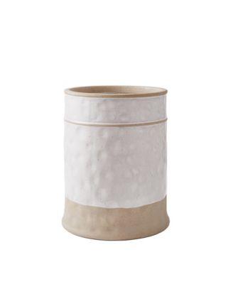Textured Paisley Waste Basket