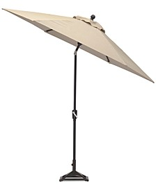 Stockholm Outdoor 9' Auto-Tilt Umbrella with Sunbrella® Fabric, Created for Macy's