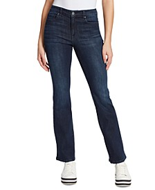 High-Rise Boot-Cut Jeans