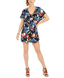 Printed Swim Cover-Up Dress, Created for Macy's