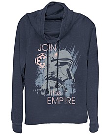 Star Wars Rogue One Join The Empire Cowl Neck Sweater